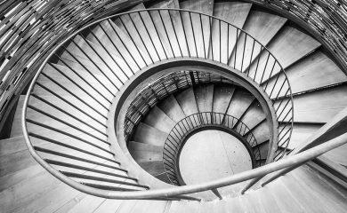 Escaleras hacia el éxito